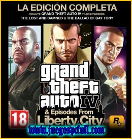 Descargar Grand Theft Auto IV Complete Edition | Full | Español | Mega | Torrent | Iso | Elamigos