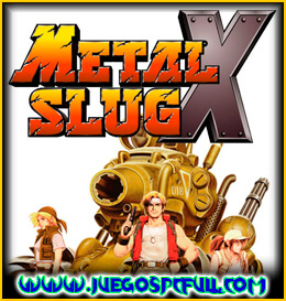 Descargar Metal Slug X Steam Edition | Español | Mega | Mediafire | Iso | Gog