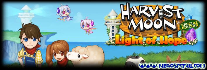 Descargar Harvest Moon Light of Hope | Español | Mega | Mediafire