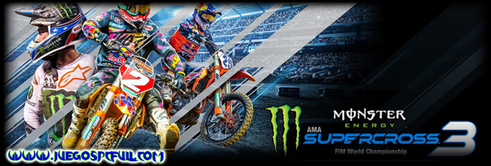 Descargar Monster Energy Supercross 3 | Español | Mega | Torrent | Iso | Elamigos