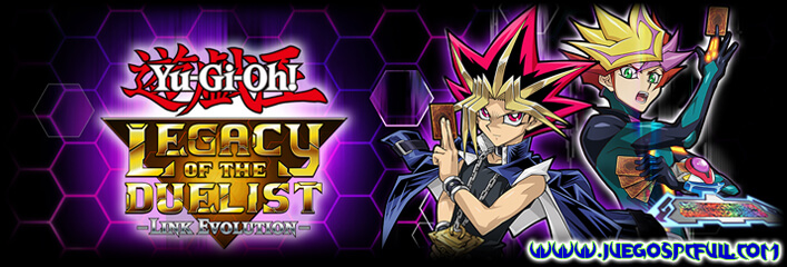 Descargar Yu-Gi-Oh! Legacy of the Duelist Link Evolution | Español | Mega | Mediafire | Drive