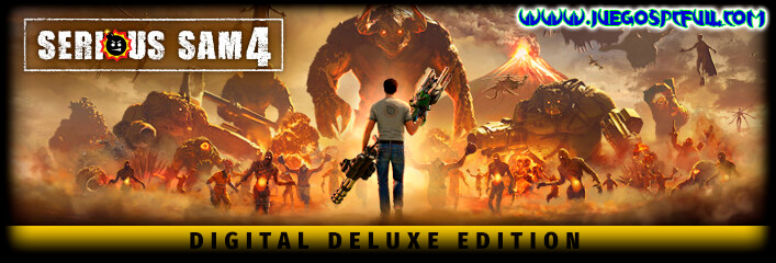 Descargar Serious Sam 4 Deluxe Edition | Español Mega Torrent ElAmigos