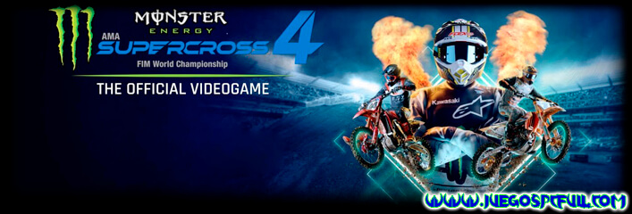 Descargar Monster Energy Supercross - The Official Videogame 4 | Español Mega Torrent ElAmigos