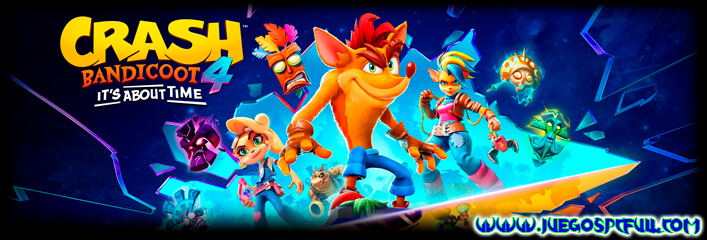 Descargar Crash Bandicoot 4 It's About Time | Español Mega Torrent